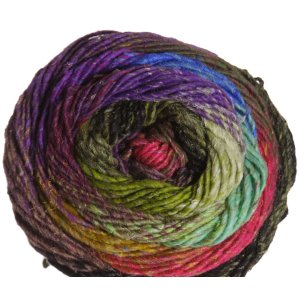 Noro Taiyo Yarn - 49 Black, Olive, White, Purple