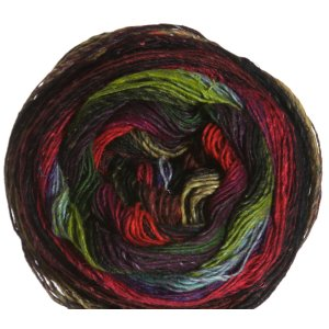 Noro Taiyo Sock Yarn - 44 Red, Olive, Red, Purple, Brown (Discontinued)