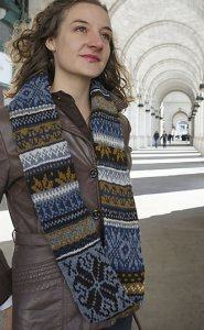 Tahki Stacy Charles Tara Tweed Union Station Infinity Cowl Kit - Scarf and Shawls