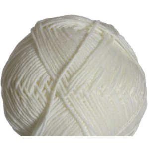Crystal Palace Cuddles DK Yarn - 0101 Snow White