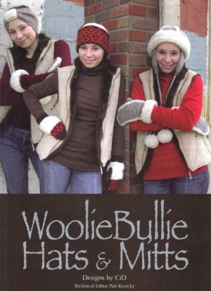 CiD Hanscom Designs Patterns - Woolie Bullie Hats and Mitts Pattern