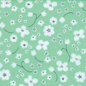 Aneela Hoey Posy Fabric - Ditsy - Lily of the Valley (18555 11)
