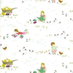 Aneela Hoey Posy Fabric - Meadow - Daisy (18550 12)