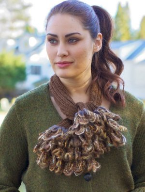 Berroco Ric Rac Goelet Scarf Kit - Scarf and Shawls