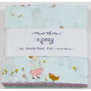 Aneela Hoey Posy Precuts Fabric - Charm Pack