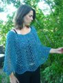 Knitting Pure and Simple Women's Patterns - 251 - Easy Lace Poncho