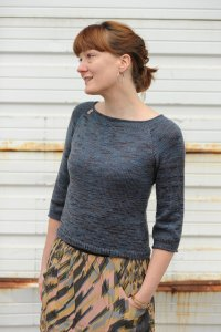 Wolf Creek Wools Bliss Winged Knits Breakwater Pullover Kit - Women's Pullovers