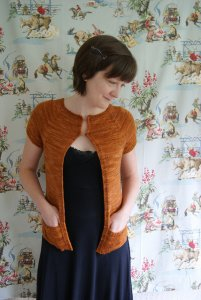 Hand Maiden Casbah Winged Knits Candelia Cardigan Kit - Women's Cardigans