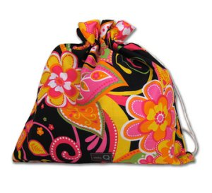 della Q Eden Cotton Project Bag (115-2) - 143 Bubble Gum