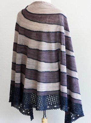 Rosemary Romi Hill Home Is Where The Heart Is Patterns - Shawl #4- Dusk Into Twilight Pattern