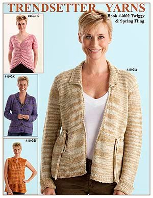 Trendsetter Pattern Books - Twiggy 4602