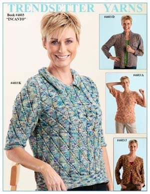 Trendsetter Pattern Books - Incanto 4603