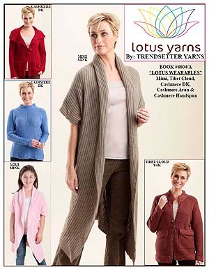 Trendsetter Pattern Books - Lotus Wearables 4604A