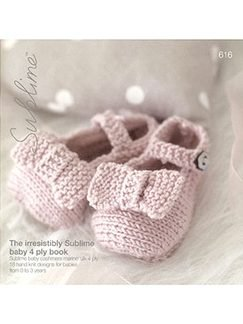 Sublime Books - 616 - The Irresistibly Sublime Baby 4ply Book