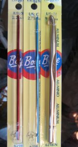 Boye Needles - US E Crochet - 3.5mm Needles