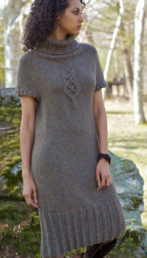 Berroco Flicker Akin Dress Kit - Dresses and Skirts