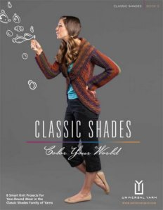 Universal Yarns Pattern Books - Classic Shades Book 3: Color Your World
