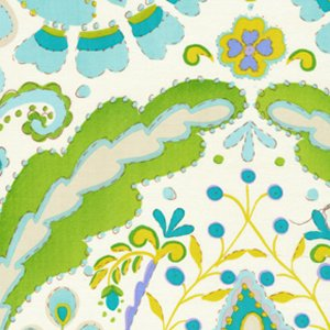 Dena Designs Kumari Garden Fabric - Teja - Blue