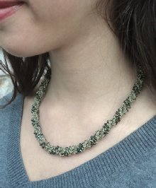 Javori Designs Leah Twist Necklace - Emerald