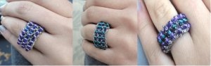 Javori Designs Bella Knit Rings - Marine Collection