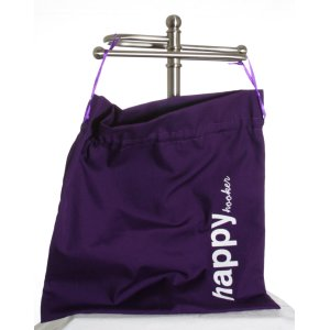della Q Edict Cotton Pouch (Style 118-2) - Happy Hooker - Purple