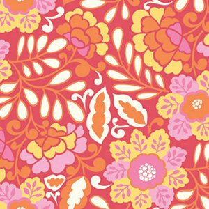Dena Designs Taza Fabric - Little Navina - Red