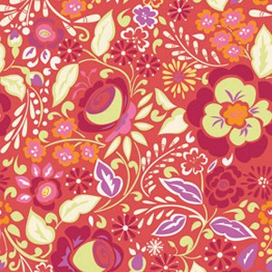 Dena Designs Taza Fabric - Caroline - Red