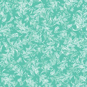 Jenean Morrison Power Pop Fabric - Girlfriend - Aqua