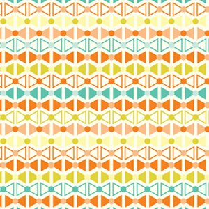 Jenean Morrison Power Pop Fabric - Pinkerton - Orange