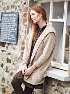 Rowan Tweed Aran Gwendoline Sweater Kit - Women's Cardigans