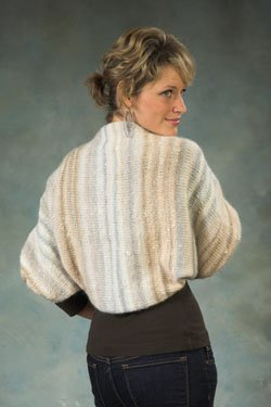 Plymouth Shrug Patterns - 2381 Mushishi and Angora Shrug Pattern