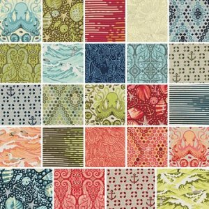 Tula Pink Salt Water Precuts Fabric - Charm Pack