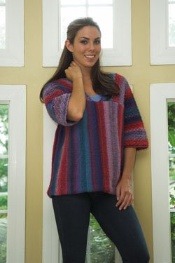 Plymouth Sweater & Pullover Patterns - 2472 Gina Pullover Pattern