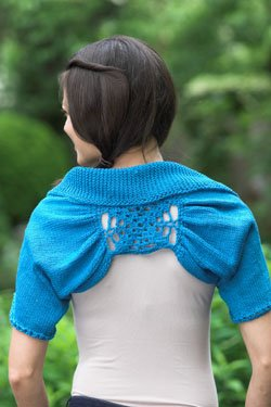 Plymouth Shrug Patterns - 2483 Cleo Crochet and Knit Shrug Pattern