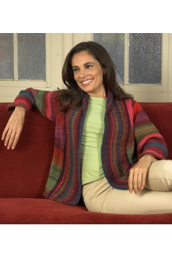 Plymouth Jacket & Cardigan Patterns - 2514 Gina Cardigan Pattern