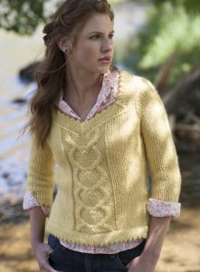 Cascade Baby Alpaca Chunky Sweetheart Pullover Kit - Women's Pullovers