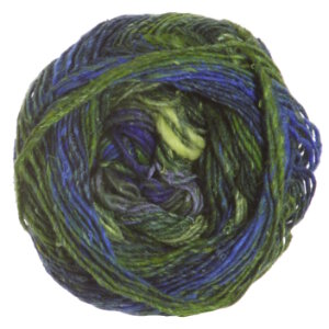 Noro Silk Garden Sock Yarn - 354 Yellow, Green, Blue