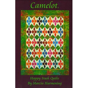 Happy Stash Quilt Sewing Patterns - Camelot Pattern