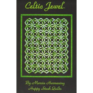Happy Stash Quilt Sewing Patterns - Celtic Jewel Pattern