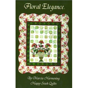 Happy Stash Quilt Sewing Patterns - Floral Elegance Pattern
