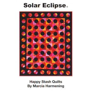 Happy Stash Quilt Sewing Patterns - Solar Eclipse Pattern