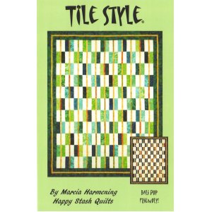 Happy Stash Quilt Sewing Patterns - Tile Style Pattern