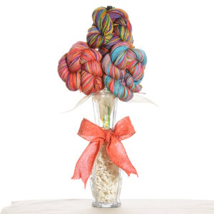 Jimmy Beans Wool Koigu Yarn Bouquets - Koigu Simple Bouquet - Rainbow
