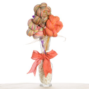 Jimmy Beans Wool Koigu Yarn Bouquets - Koigu Simple Bouquet - Oranges, Yellows