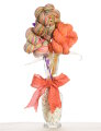 Jimmy Beans Wool Yarn Bouquets - Koigu Simple Bouquet - Oranges, Yellows
