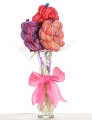 Jimmy Beans Wool Yarn Bouquets - Koigu Simple Bouquet - Pinks, Purples