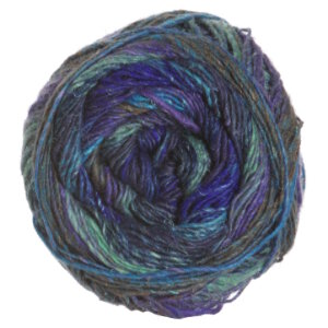Noro Silk Garden Sock Yarn - 373 Blue, Sky, Royal, Light Green (Discontinued)