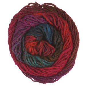 Noro Kureyon Yarn - 326 Hot Pink, Brown