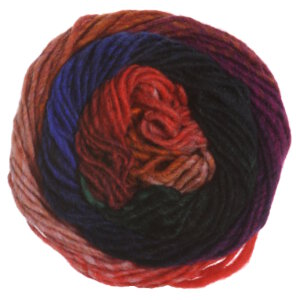 Noro Kureyon Yarn - 329 Orange, Green (Discontinued)