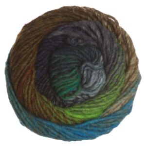 Noro Kureyon Yarn - 333 Tan, Blue, Green (Discontinued)